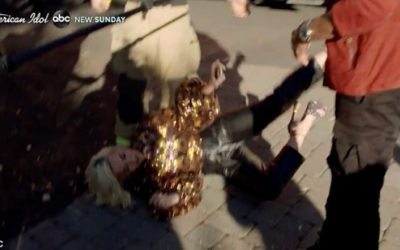 Katy Perry desmaia após passar mal com vazamento de gás nas gravações do American Idol