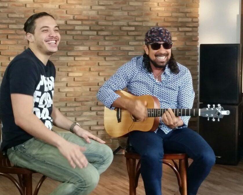 Bell Marques e Safadão fazem live em cima de trio elétrico para o Fortal