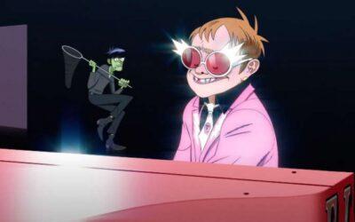 """Gorillaz e Elton John se juntam para parceria em """"The Pink Phantom"""". Veja o clipe!"""