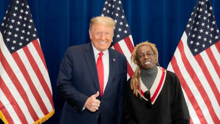 Lil Wayne ganha o perdão presidencial de Donald Trump
