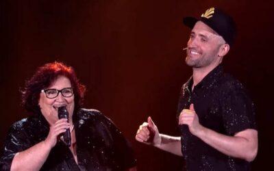 Veja Paulo Gustavo dividindo o palco com sua mãe Déa Lúcia